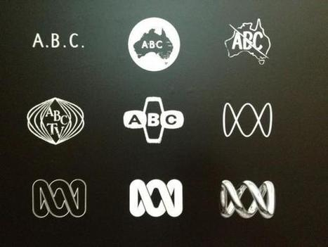 Twitter / SimonPalan: How ABC logos have changed   timms brand design   Scoop.it