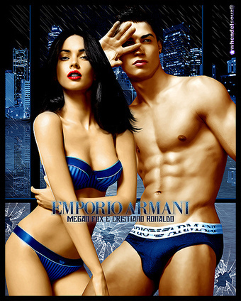 Megan Fox e Cristiano Ronaldo - Emporio Armani - whendelsouz@ | Viva Technics | Celebrities & Stars & Entertainment & Travel & Sports | Scoop.it