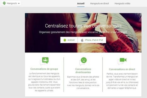 Google+ : Nouveau design pour la page Hangouts - #Arobasenet | Médias et réseaux sociaux | Scoop.it