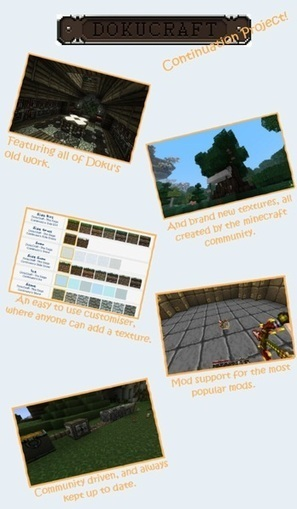 DokuCraft Resource Pack The Saga Continues 1.7.4/1.7.2/1.6.4 | Minecraft Resource Packs | Minecraft Resource Packs 1.7.10, 1.7.2 | Scoop.it