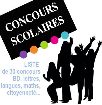 Concours scolaires 2013-2014 pour mobiliser vos élèves de primaire, de collège et de lycée. | | CDI RAISMES - MA | Scoop.it