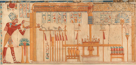 THE TEMPLE OF SETI I AT ABYDOS Amice Calverley's Record of the Temple of Seti I. | The Related Researches & News of Dr John Ward | Scoop.it