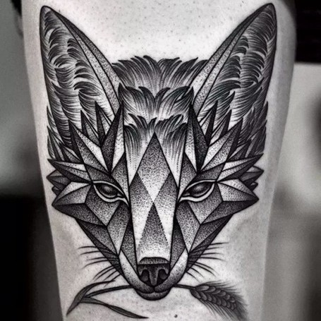 14 Phenomenal Dotwork & Geometric Tattoos • Perfect Tattoo Artists | Tattoos & Body Art | Scoop.it