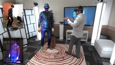 """Watch: Microsoft's """"Holoportation"""" Tech in Action 