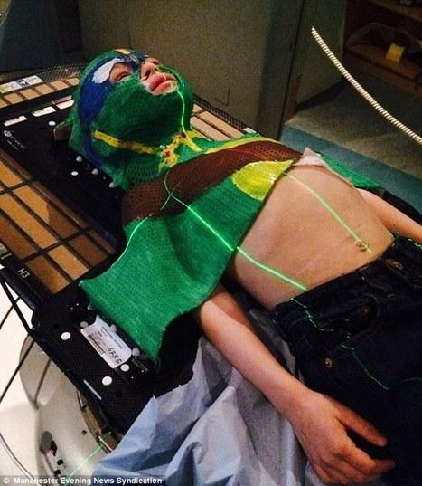Boy, 5, battling rare cancer created Ninja Turtle mask | @NewDayStarts | Scoop.it
