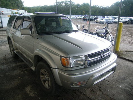 Salvage 2001 silver Toyota 4Runner Lt with VIN JT3HN87R810352384 on auction | VEHICLES on Auction | Scoop.it