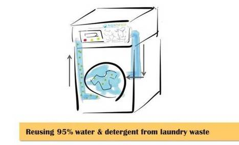Filtration technology allows washing machines to reuse 95% of laundry wastewater | Eureka | Scoop.it