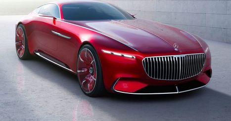 Mercedes' new all-electric Maybach coupe concept puts Tesla to shame | Business and the Environment | Scoop.it