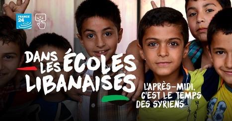 Dans les écoles libanaises, l'après-midi c'est le temps des Syriens | Français 4H | Scoop.it