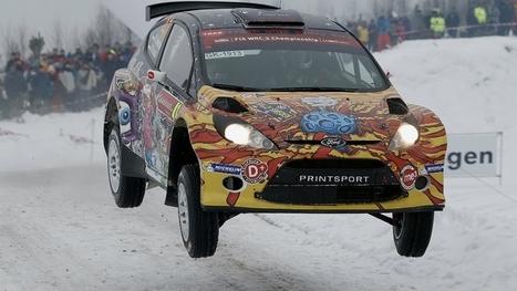 Karl Kruuda WRC2 winner at Rally Sweden - wrc.com | Rallys | Scoop.it