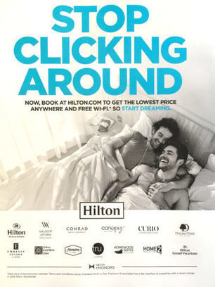 Hotels Slip Into Bed With Gay Men, Advertising Results | LGBT Online Media, Marketing and Advertising | Scoop.it