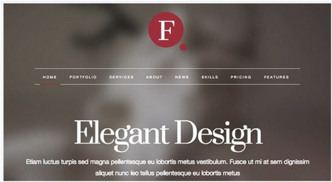 13 Beautiful and Responsive WordPress Themes by @highervis | Blogs | Scoop.it