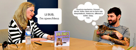 Cat Wisdom 101 | Lil BUB Book Giveaway and Exclusive Author Q + A | Cats Rule the World | Scoop.it