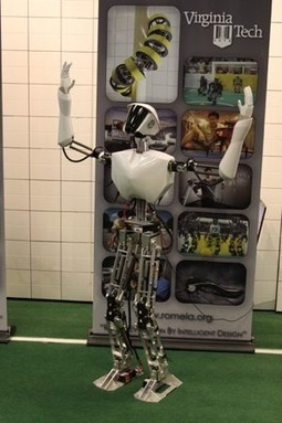 Firefighting (and just plain fighting) robot - Boing Boing | The Robot Times | Scoop.it