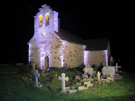 Chapelle Saint-Etienne de Ens hier soir - Xabier Zalduendo | Facebook | Vallée d'Aure - Pyrénées | Scoop.it