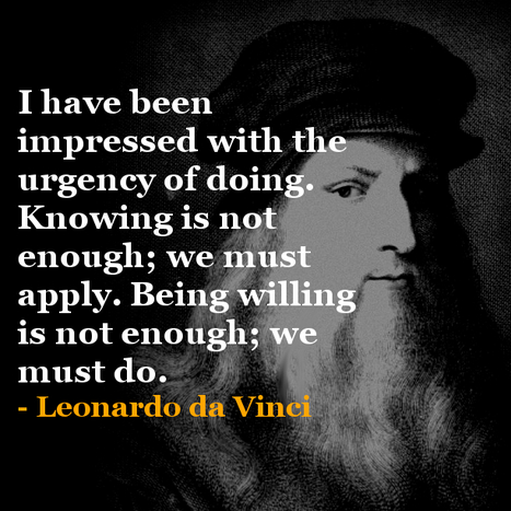 Learning Innovation from Leonardo Da Vinci ! | Management - Innovation -Technology and beyond | Scoop.it