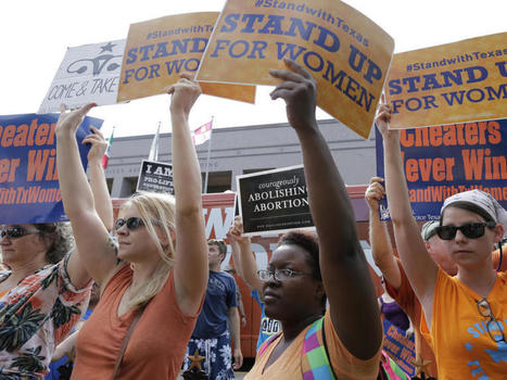 Federal appeals court reinstates key restriction in Texas abortion law | 1 John 5:19 | Scoop.it