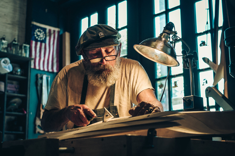 Mr Jim Wheeler, the ship maker | Francois Marclay | Fuji X-Pro1 | Scoop.it