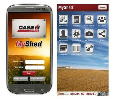 Go Mobile, Stay Organized for Your Parts Needs   Case IH   Ag app   Scoop.it