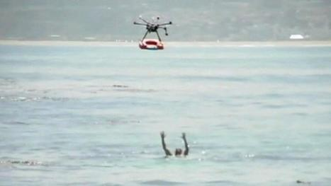 Drones used to help lifeguards save people on busy beaches in Chile | Technology for Good | Scoop.it