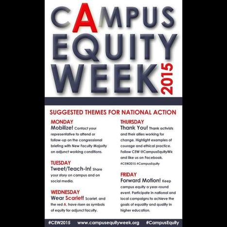 Suggestions for @CampusEquityWk M-F ~ t/y Adjun'ct N'oise | A is for Adjunct | Scoop.it