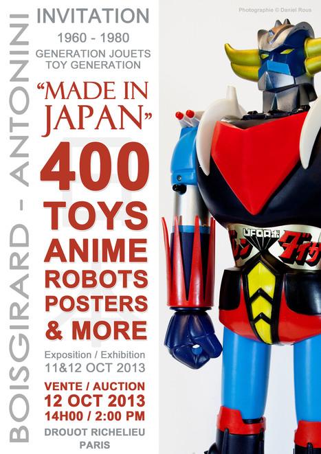 ToyzMag.com » made in japan | Vente aux encheres design et pop culture | Scoop.it