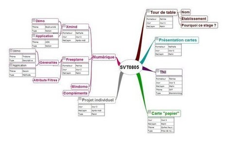 Utiliser autrement les cartes heuristiques avec Freeplane : Notes, Attributs et Filtres | Art of Hosting | Scoop.it