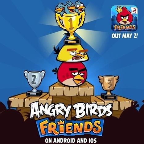 Angry Birds Friends sur iPhone, disponible... | Geeks | Scoop.it