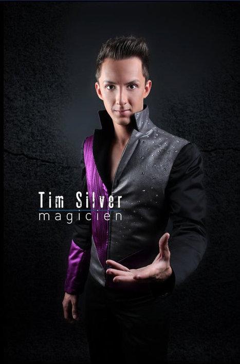 Evénements: Le magicien Tim Silver habillé par Judith Husch | Magie | Scoop.it