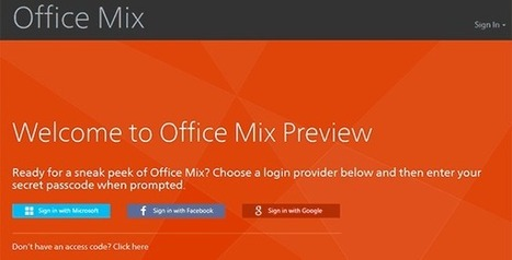 Office Mix- interactive presentation software | Digital Presentations in Education | Scoop.it