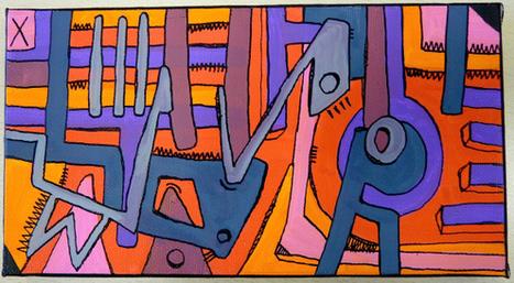 Geometrik small by Tarek | Tarek artwork | Scoop.it