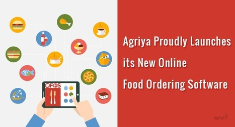 Agriya Launches its New Online Food Ordering Software | Agriya | Scoop.it