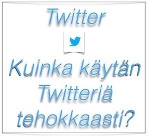 Kuinka käytän Twitteriä tehokkaasti? | Sosiaalinen Media | Scoop.it