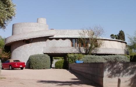La David and Gladys Wright House sauvée. | Architecture pour tous | Scoop.it