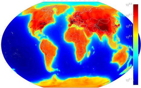 Première carte mondiale des neutrinos terrestres   Home   Scoop.it