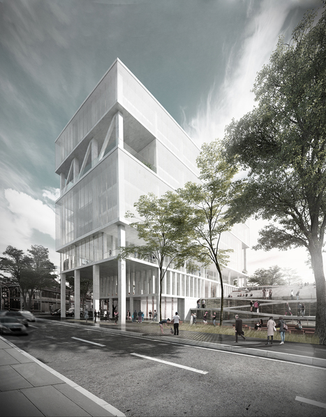 MOBO Architects Win Competition to Design Government Building in Bogotá, Colombia | The Architecture of the City | Scoop.it