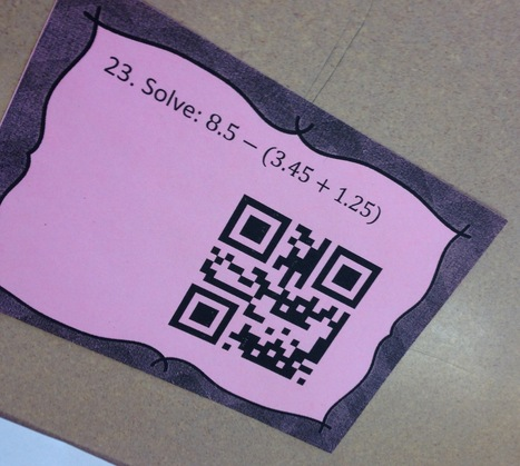 QR Codes and Math Stations | QR-Codes | Scoop.it
