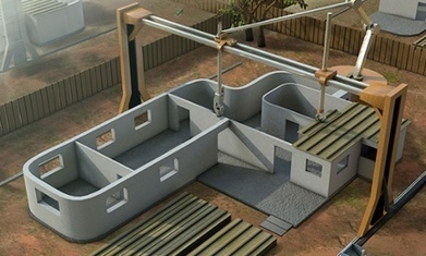 Work begins on the world's first 3D-printed house | Impression 3D, Hacker Spaces, FabLab & Co. | Scoop.it