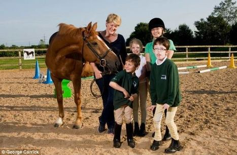 Nutmeg, the horse who changes children's lives: CLARE BALDING on her plan to help disabled kids by taking them riding | Horseback Riding | Scoop.it