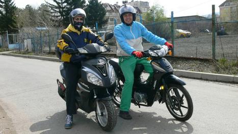 التجول بدراجة بخارية (سكوتر) في محيط صوفيا | Life on Wheels | Scoop.it