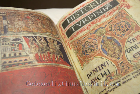 Codex Calixtinus: La historia Turpini, crónica de guerra en el S.XII (Codex Calixtinus) | Codex Calixtinus | Scoop.it