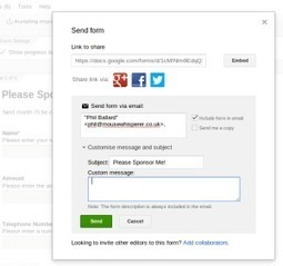 Send and Store Your Forms in Gmail | Technology in Today's Classroom | Scoop.it