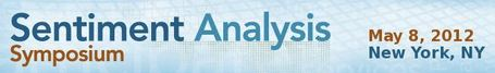 Sentiment Analysis Symposium - Speaker List | Text Analytics | Scoop.it