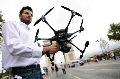 A Paris, deux sites pour s'initier aux drones | Vous avez dit Innovation ? | Scoop.it
