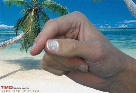 Timex propone ofrecer un reloj en unas uñas desechables   Enginys amb enginy   Scoop.it