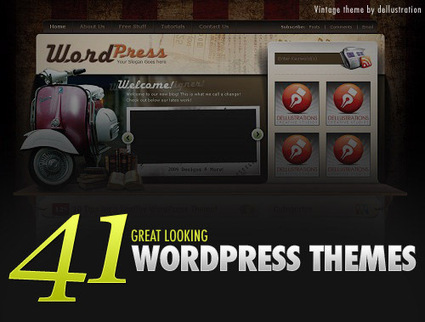 41 Great Looking Free WordPress Themes | E-learning UX & Moolde | Scoop.it