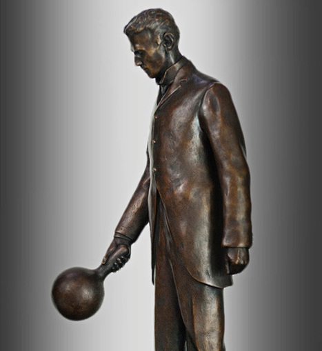Here's a first look at the Tesla statue in Palo Alto | Intellectual Property | Scoop.it