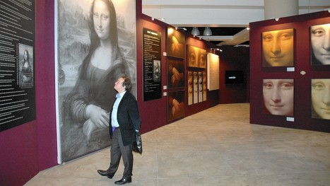 Reading exhibit unveils the Mona Lisa's true colors | Clic France | Scoop.it