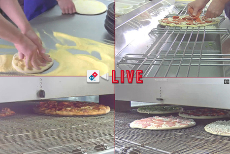 Domino's filme en direct la fabrication de votre pizza !   La Gazette du Food Truck - Food Angel's   Scoop.it