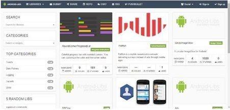 Android-Libs, un lugar donde encontrar librerías y herramientas para desarrolladores   Las utilidades 2.0 de epampliega   Scoop.it